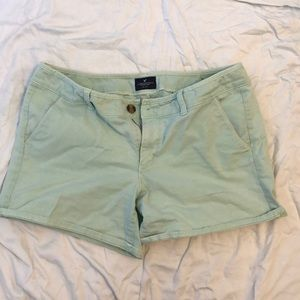 American Eagle mint shorts - 14